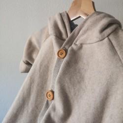 Bio-Cotton Fleece Coat...